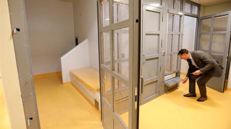 Visite à l'intérieur des cellules du nouveau TGI de Paris en septembre 2017 (image d'illustration).