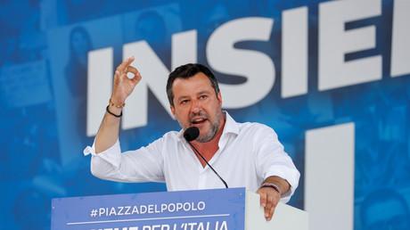 Le leader de la Ligue, Matteo Salvini.