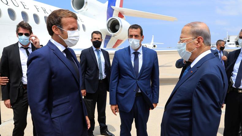 Emmanuel Macron rappelle au Liban «l'exigence» française de «réformes indispensables»
