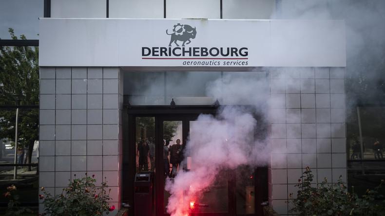 163 employés de Derichebourg vont être licenciés pour avoir refusé une baisse de leur salaire