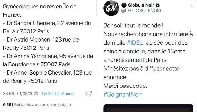 Un collectif liste les «gynécologues noires en Île-de-France», l'Ordre des médecins monte au créneau