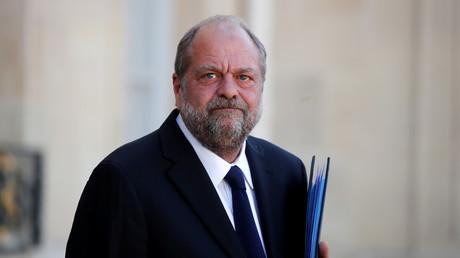 Le nouveau ministre français de la Justice, Eric Dupond-Moretti, à l'Elysée à Paris, France, le 7 juillet 2020.