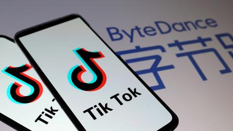 Logo TikTok (image d'illustration).