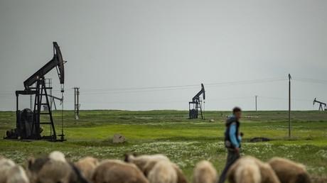 Puits de pétrole au nord-est de la Syrie dans la province d'Hasakeh (image d'illustration).