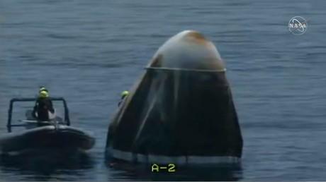 SpaceX : les astronautes américains de retour sur Terre après deux mois dans l'ISS