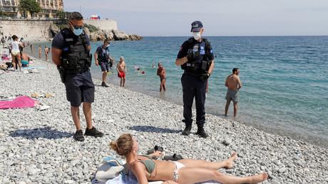 Des policiers municipaux à Nice en mai 2020 (image d'illustration).