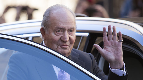 L'ancien roi d'Espagne Juan Carlos Ier à Palma de Majorque, le 1er avril 2018 (image d'illustration).