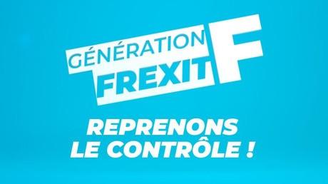 Logo de l'association Génération Frexit, dont les statuts ont été déposés le 14 juillet 2020.