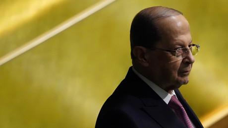 Le président libanais rejette l'idée d'une enquête internationale proposée par Emmanuel Macron