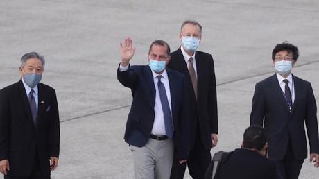 Pékin dénonce la visite d'un ministre américain à Taïwan, une menace pour «la paix et la stabilité»