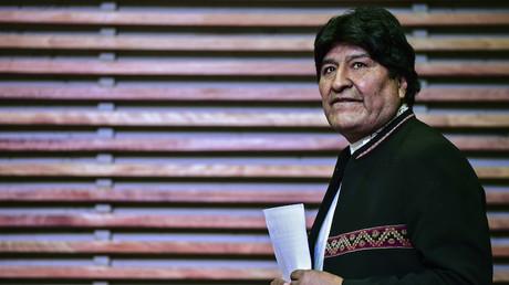 Evo Morales, ancien président bolivien (image d'illustration)