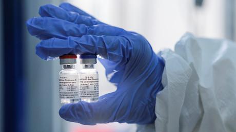 Image du vaccin développé par l'Institut de recherche en microbiologie et épidémiologie Gamaleïa de Moscou (image d'illustration).
