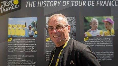 Bernard Hinault lors du Tour de France 2019, à Bruxelles, le 4 juillet 2019, en Belgique (image d'illustration).