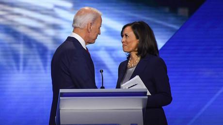 Joe Biden et Kamala Harris, le 12 septembre 2019, à Houston, aux Etats-Unis (image d'illustration).
