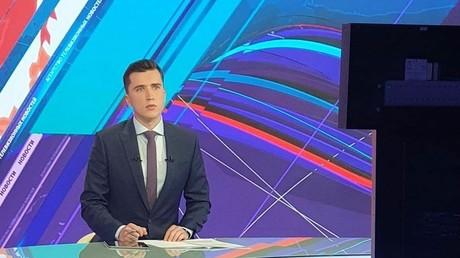 Sergueï Kozlovitch, ex-présentateur de l'agence biélorusse ATN.