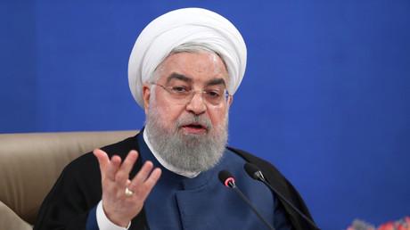 Le président iranien Hassan Rohani en juillet 2020 (image d'illustration).
