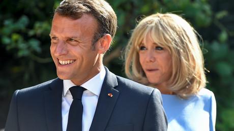 Emmanuel et Brigitte Macron (image d'illustration).