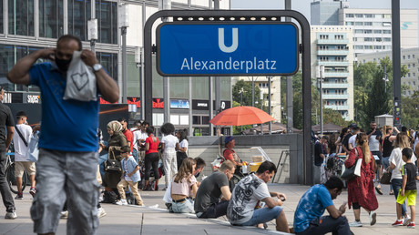 Les contaminations repartent à la hausse, laissant craindre une deuxième vague de coronavirus (image d'illustration, à Berlin en Allemagne).