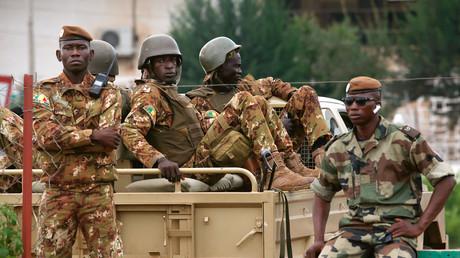 Des soldats maliens à Bamako le 10 août 2018 (image d'illustration).
