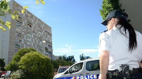 Patrouille de police à la Cité des Oliviers à Marseille (image d'illustration).
