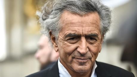 Bernard-Henri Lévy à Paris en octobre 2019 (image d'illustration).