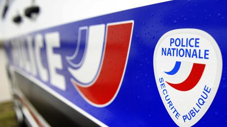 Logo de la police nationale photographié sur un véhicule en 2013 (image d'illustration).