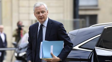 Le ministre français de l'Economie, des Finances et de la Relance, Bruno Le Maire, à l'hôtel Matignon à Paris, le 17 juillet 2020 (illustration).
