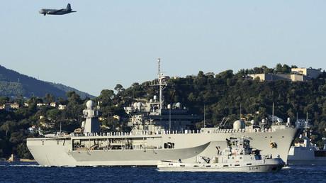 Le remorqueur français Esterel (A641) le 15 août 2014, dans la baie de Toulon, dans le sud de la France (image d'illustration).