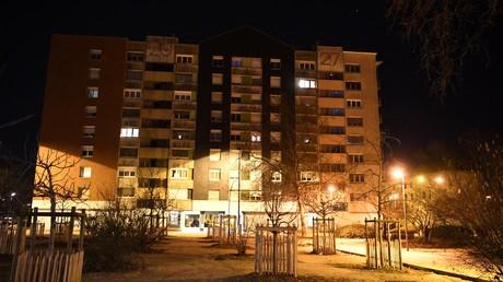 Un immeuble de la cité Mistral à Grenoble photographié en mars 2019 (image d'illustration).