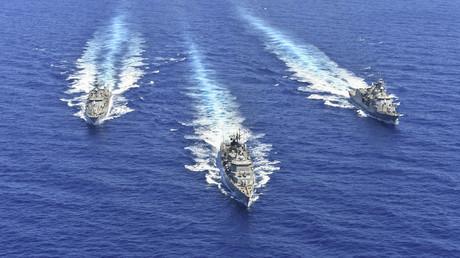 La flotte grecque se déploie en Méditerranée (image d'illustration datée du 25 août 2020).