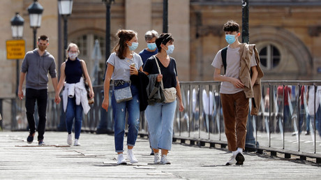 Le port du masque est obligatoire à Paris (image d'illustration).