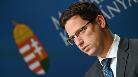Gergely Gulyas, chef du Bureau du Premier ministre hongrois, Viktor Orban, en 2018 (image d'illustration).
