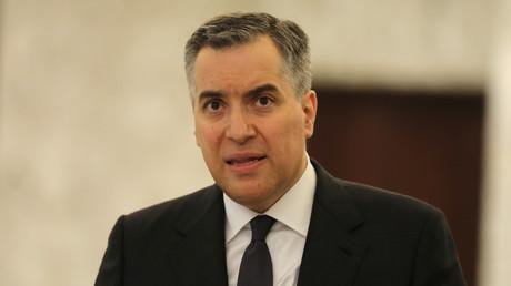 Le nouveau Premier ministre libanais, Moustapha Adib, le 31 août 2020 au palais de Baabda (image d'illustration).