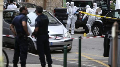 La police technique et scientifique en plein travail à Ajaccio après un homicide le 18 juin 2020 (image d'illustration).