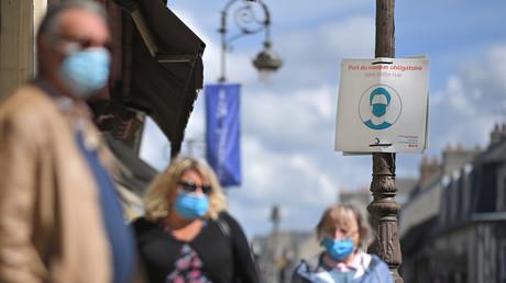 Scène de rue à Deauville, dans le nord-ouest de la France, le 7 septembre 2020. (image d'illustration)