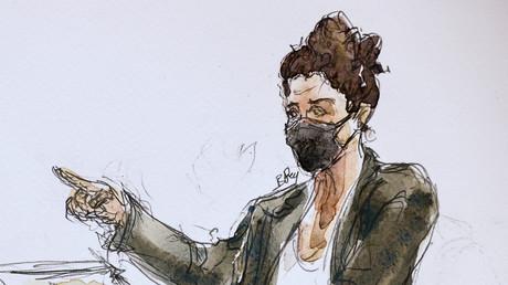 Corinne Rey, dite Coco, témoignant au Tribunal de Paris le 8 septembre 2020. (Image d'illustration)