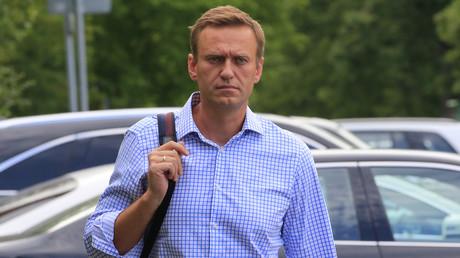 Alexeï Navalny, le 1er juillet 2019, à Moscou (image d'illustration).