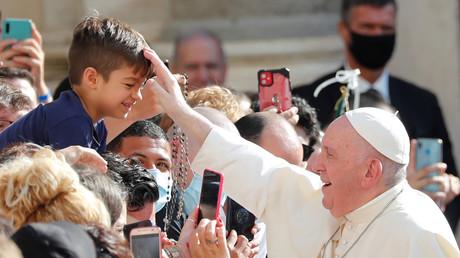 Le Pape est allé au contact du public, le 9 septembre.