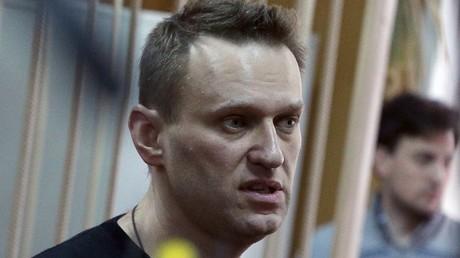 Alexeï Navalny, le 27 mars 2017, à Moscou (image d'illustration).