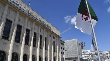 Le bâtiment de l'Assemblée populaire algérienne, le 10 septembre 2020, à Alger.