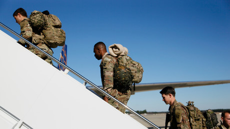 Des soldats américains à Fort Bragg (Caroline du Nord), le 5 janvier 2020 (image d'illustration).