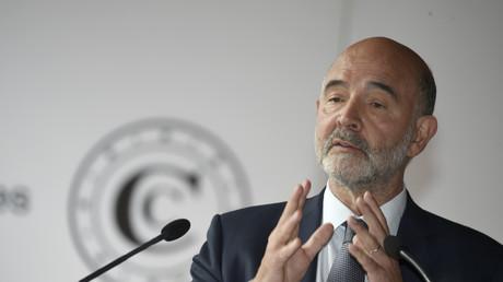Le premier président de la Cour des comptes, Pierre Moscovici, lors de sa conférence de presse sur la situation et les perspectives des finances publiques françaises, à Paris le 30 juin 2020 (image d'illustration).