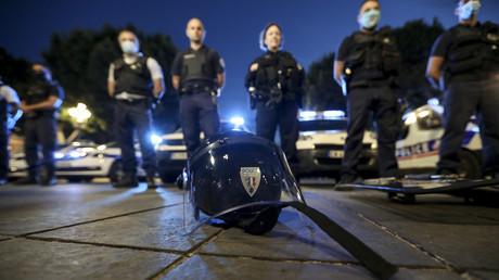 Des policiers de nuit manifestent leur mécontentement le 11 juin 2020 à Nice (image d'illustration).