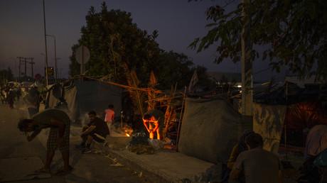 Grèce : arrestation de cinq migrants dans le cadre de l'enquête sur l'incendie du camp de Moria