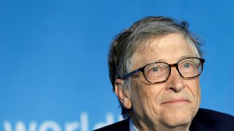 Bill Gates à Washington le 21 avril 2018 (image d'illustration).