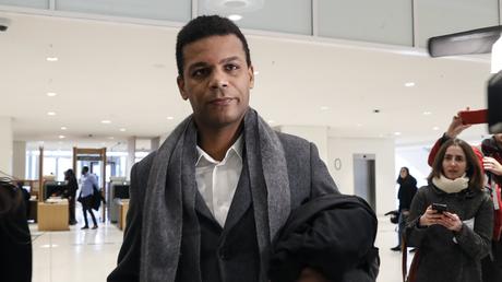 Yassine Bouzrou, avocat de la famille Traoré, ici au tribunal de Paris en février 2020 (image d'illustration).