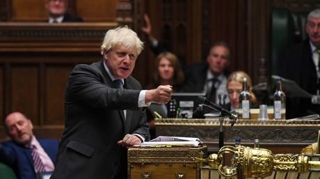 Le Premier ministre britannique Boris Johnson au Parlement le 16 septembre 2020 (image d'illustration).
