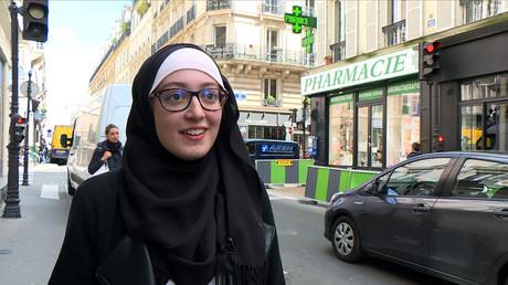 Maryam Pougetoux, vice-présidente du syndicat étudiant Unef, le 2 mai 2018. (Image d'illustration)