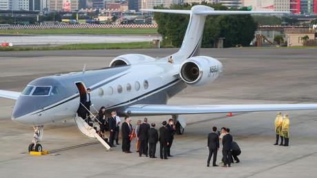 Le sous-secrétaire d'Etat américain, Keith Krach, arrive à Taipei, le 17 septembre (image d'illustration).