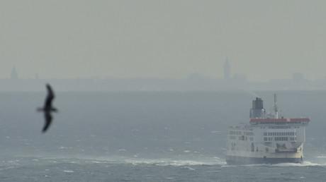 Un ferry traverse la Manche le 9 janvier 2016 (image d'illustration).